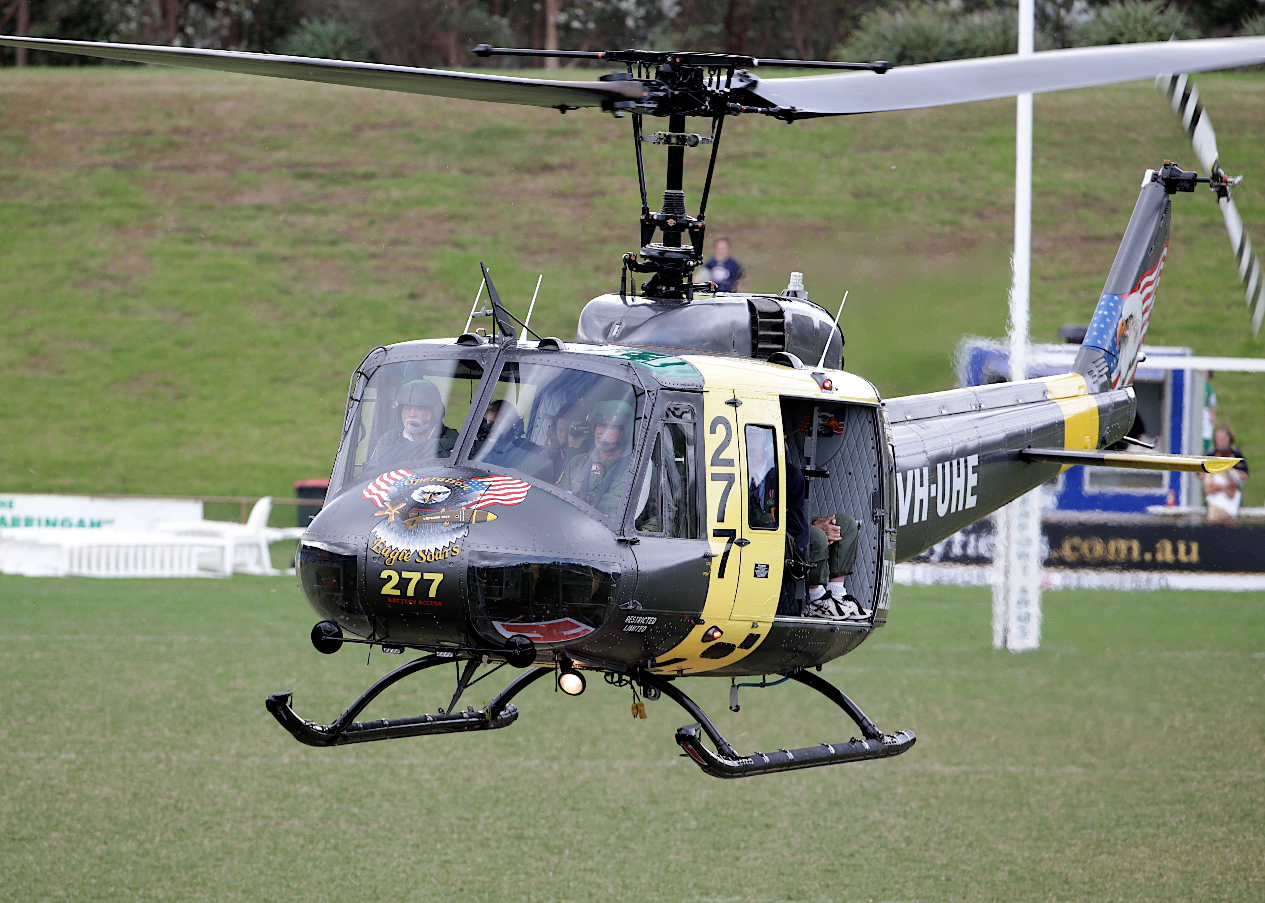UH-1H Huey Helicopter